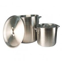 Winco AXS-50 Win-Ware 50 Qt Aluminum Stock Pot