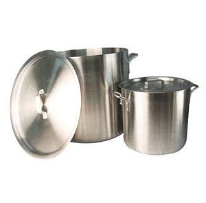 Winco AXS-60 Win-Ware 60 Qt Aluminum Stock Pot