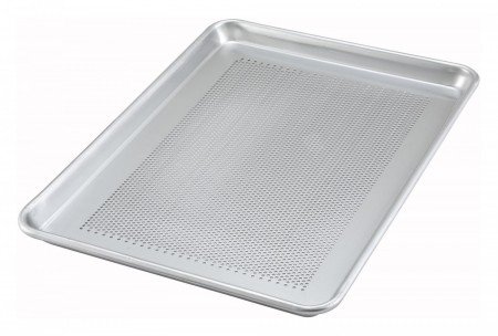 Winco Alxp 1318p Perforated Half Size Aluminum Sheet Pan 13 X 18
