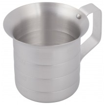 Winco AM-05 Aluminum Measuring Cup 1/2 Qt.