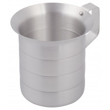 Winco AM-1 Aluminum Measuring Cup 1 Qt.