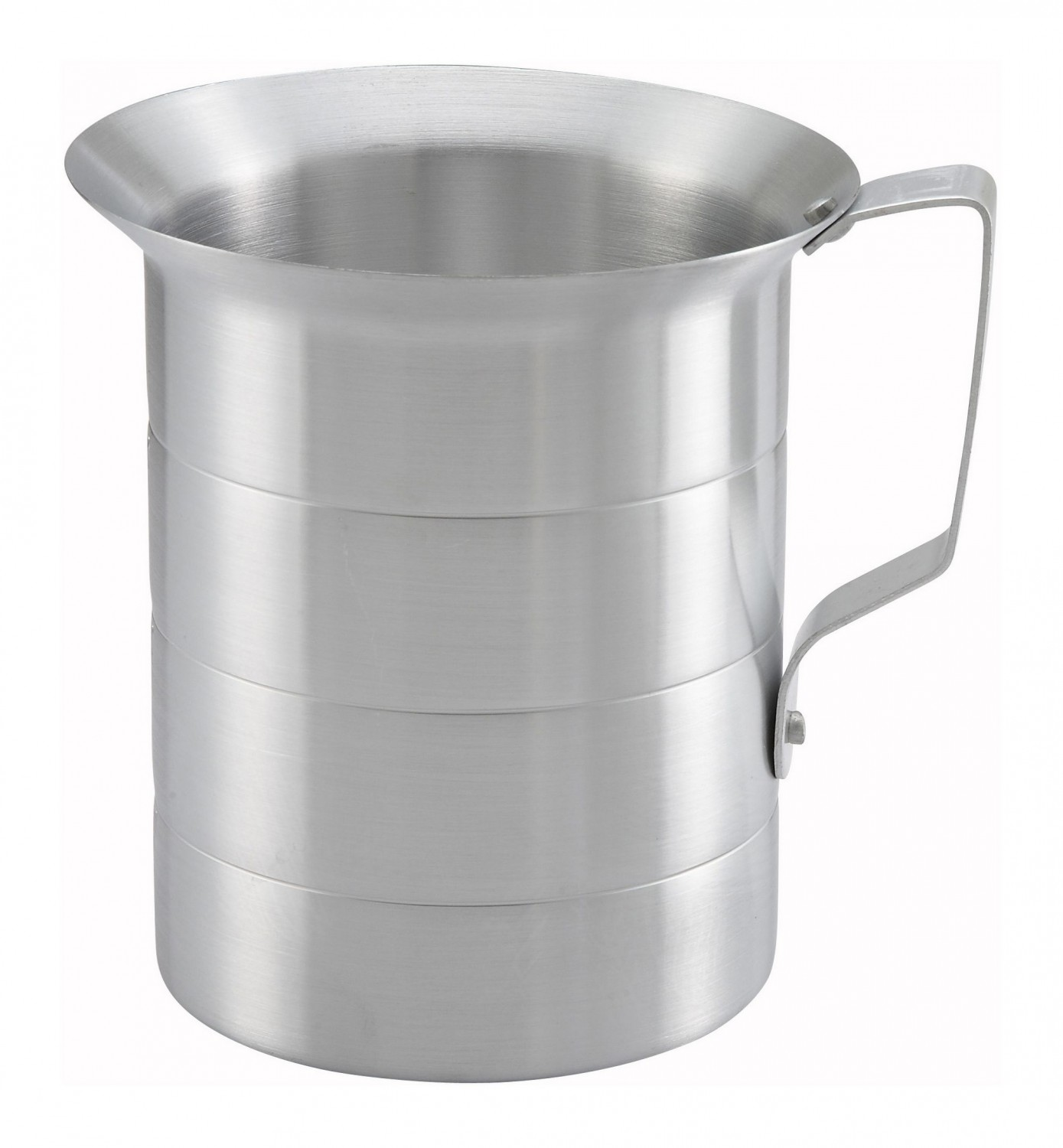 Winco AM-2 Aluminum Measuring Cup 2 Qt.