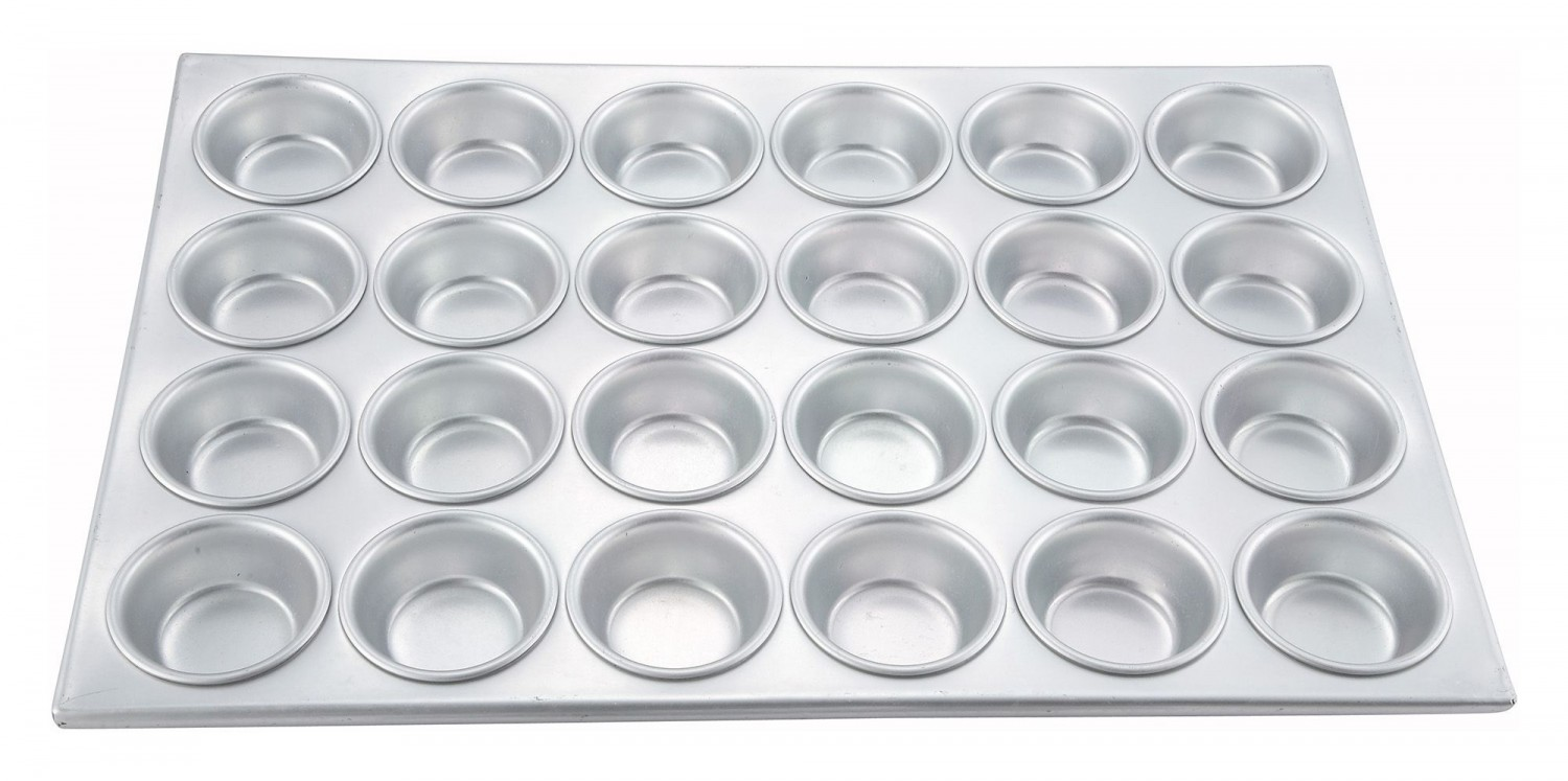 Winco Amf 24 24 Cup Aluminum Muffin Pan