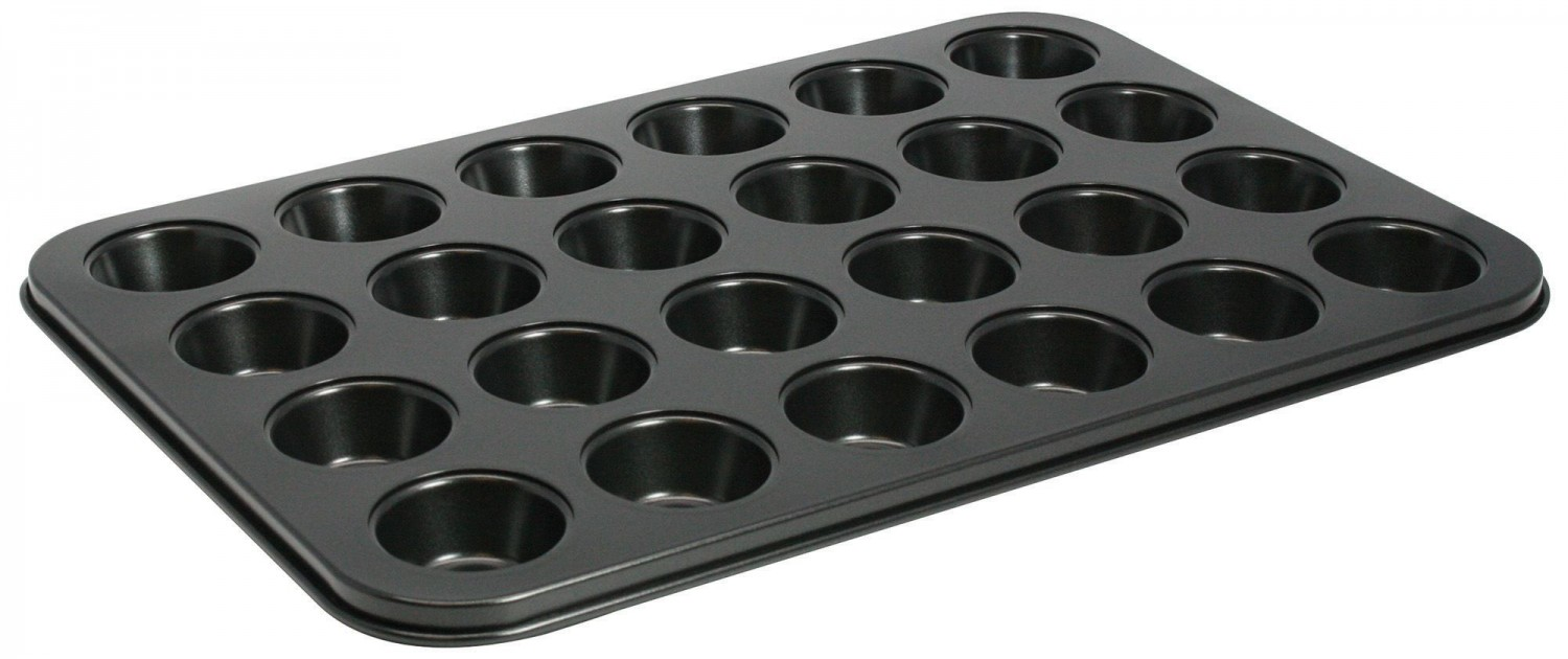 Winco AMF-24MNS Non-Stick Mini Muffin Pan 24 Cup