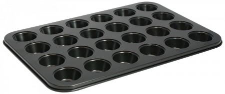 Winco AMF-24MNS 24-Cup Non-Stick Mini Muffin Pan