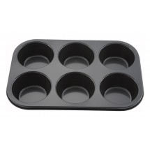 Winco AMF-6NS 6-Cup Non-Stick Muffin Pan