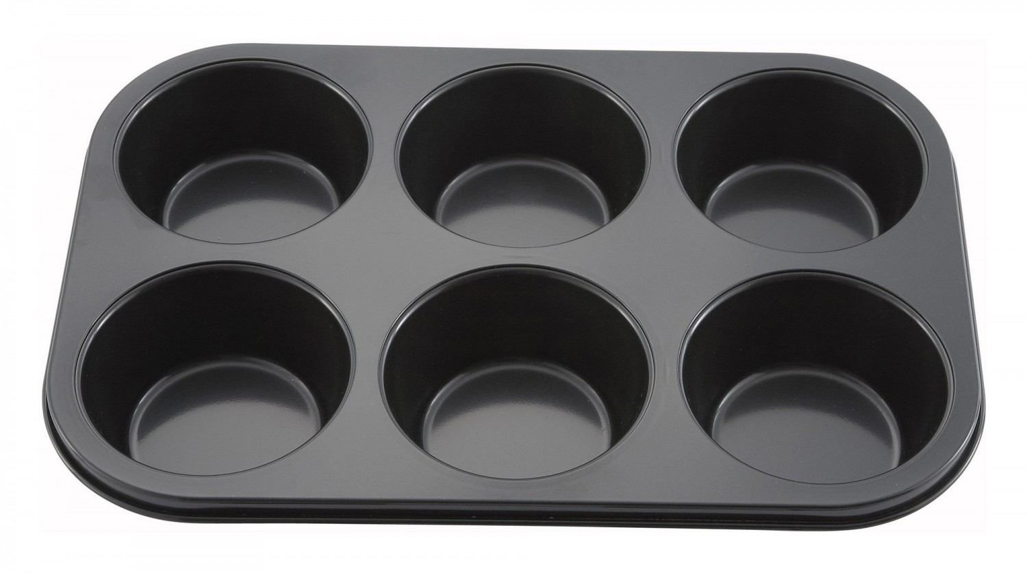 Winco AMF-6NS Non-Stick Muffin Pan 6 Cup