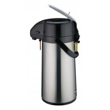 Winco AP-819 Glass Lined Airpot with Lever Top 1.9 Liters