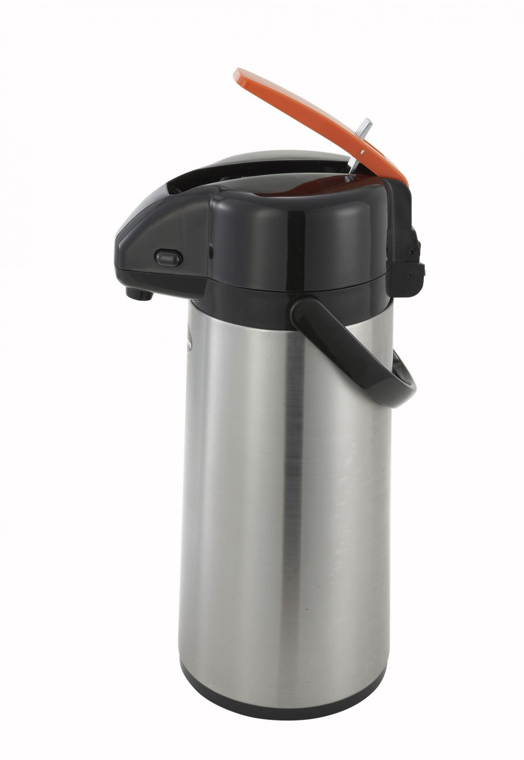 Winco AP-822DC Stainless Decaf Vacuum Server with Glass Liner, Lever Top 2.2 Liter