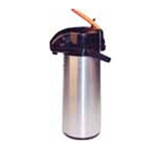 Winco AP-825DC Stainless Decaf Vacuum Server with Glass Liner, Lever Top 2.5 Liter