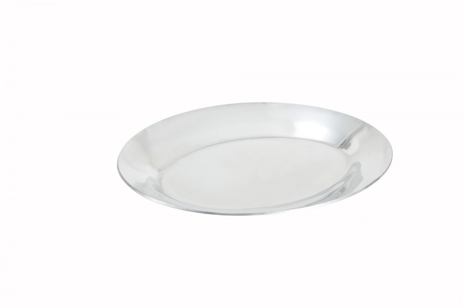 Winco APL-11 Aluminum Oval Sizzling Platter 11