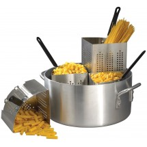 Winco APS-20 Pasta Cooker with 4 Insets 20 Qt.
