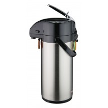 Winco APSK-725 Stainless Steel Vacuum Server, Lever Top 2.5 Liter