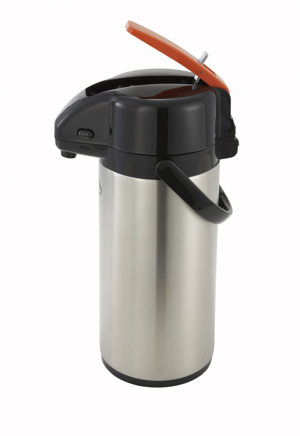 Winco APSK-725DC Stainless Steel Decaf Vacuum Server, Lever Top 2.5 Liter