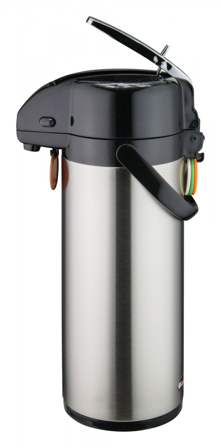 Winco APSK-730 Stainless Steel Vacuum Server, Lever Top 3.0 Liter