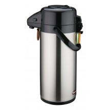 Winco APSP-925 Push Button Vacuum Server with Stainless Steel Liner 2.5 Liter