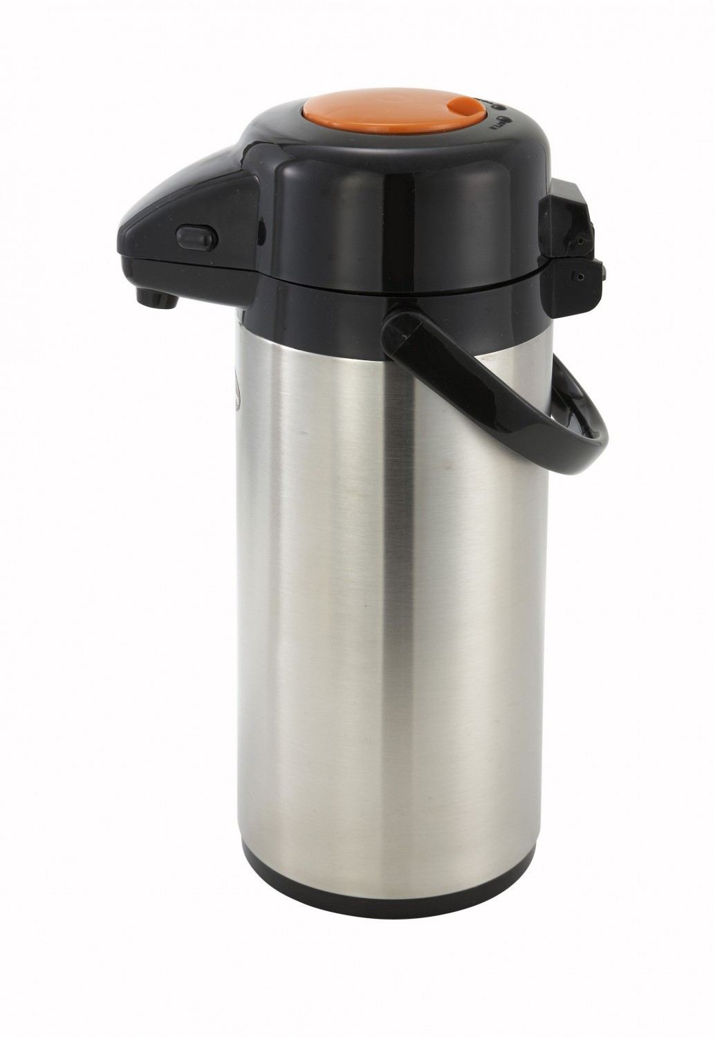 Winco APSP-925DC Airpot Decaf Push Button Vacuum Server 2.5 Liter