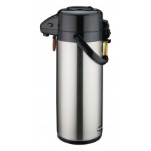 Winco APSP-930 Stainless Push Button Vacuum Server 3.0 Liter
