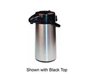 Winco APSP-930DC Airpot Decaf Push Button Vacuum Server 3.0 Liter