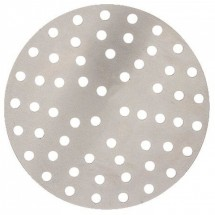 "Winco APZP-19SP Aluminum Super-Perforated Pizza Disk, 19"" Diameter, 652 Holes"