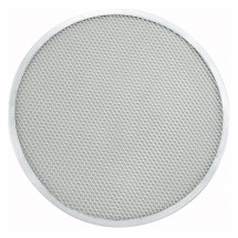 Winco APZS-13 Seamless Aluminum Pizza Screen 13""
