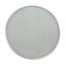 Winco APZS-17 Aluminum Mesh Seamless Pizza Screen 17""