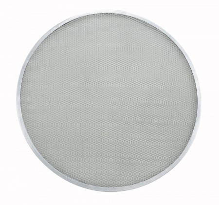 Winco APZS-20 Aluminum Seamless Pizza Screen 20""