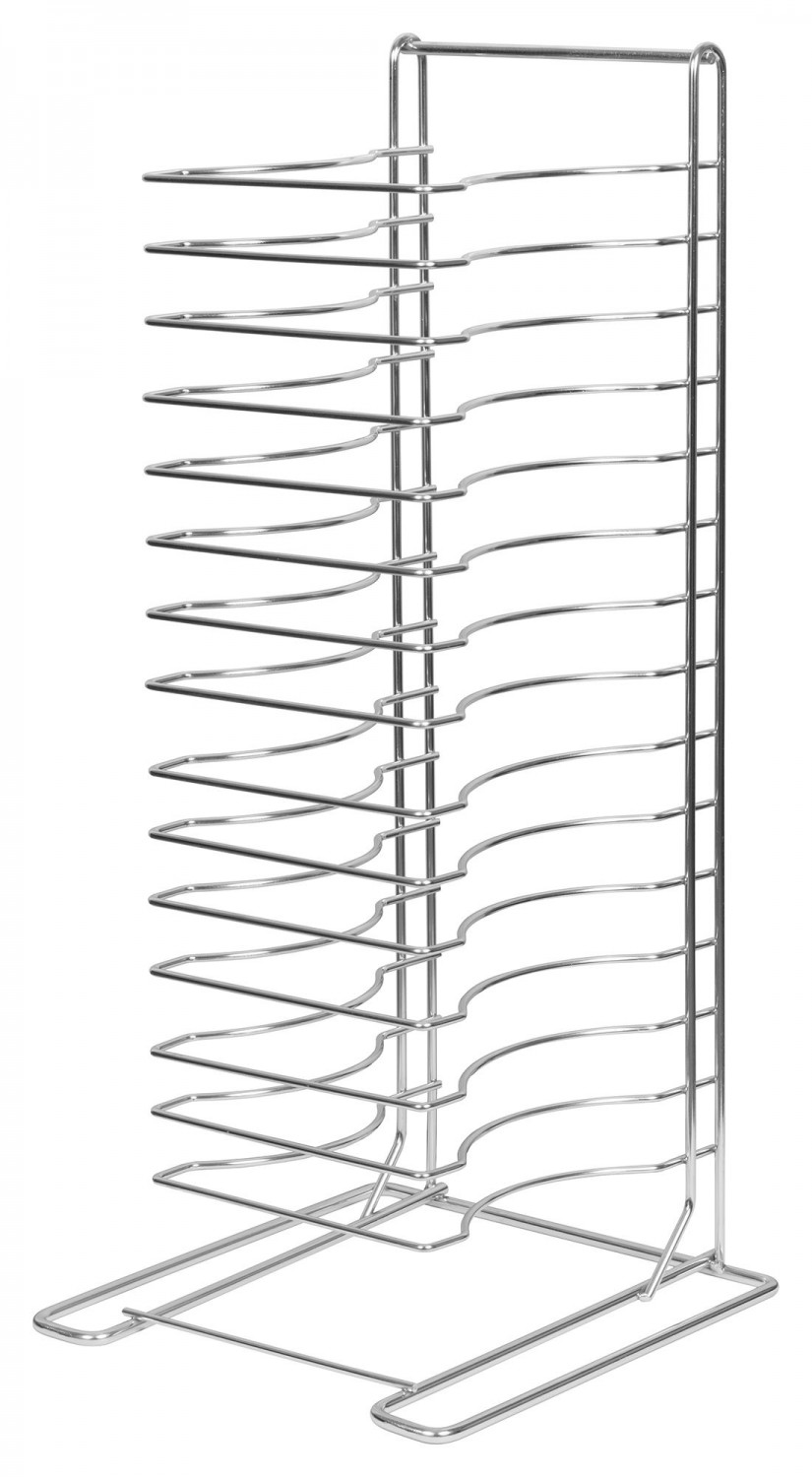 Winco APZT-1015 15-Slot Pizza Tray Rack