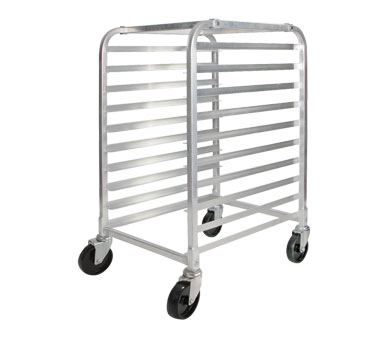Winco AWRK-10 10-Tier Welded Aluminum Sheet Pan Rack