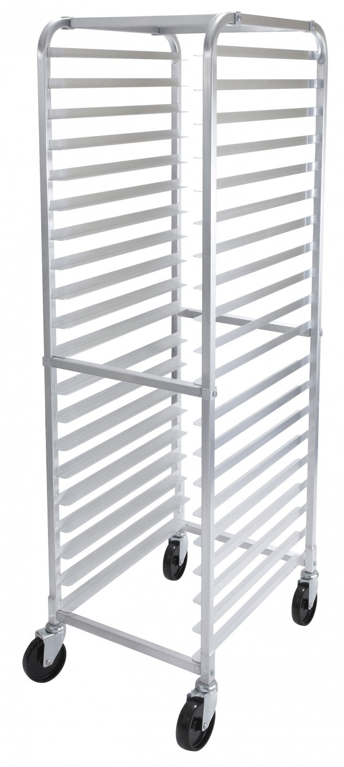 Winco AWRK-20 20-Tier Welded Aluminum Sheet Pan Rack