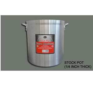 Winco AXHH-16 Super Aluminum Stock Pot 16 Qt.