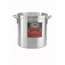 Winco AXHH-32 32 Qt. Super Aluminum Stock Pot