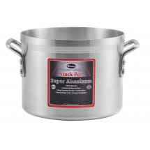 Winco AXS-12 Super Aluminum Stock Pot 12 Qt.