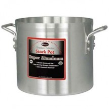 Winco AXS-80 80 Qt. Super Aluminum Stock Pot