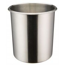 Winco BAM-6 6 Quart Stainless Steel Bain Marie