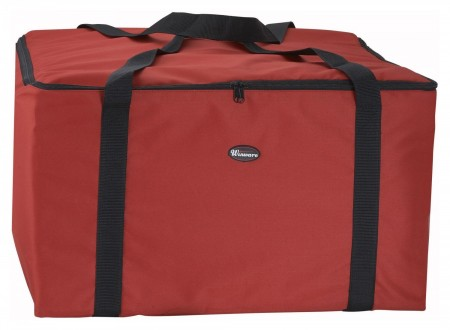 "Winco BGDV-22 Pizza Delivery Bag, 22"" x 22"" x 13"
