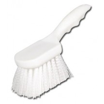 Winco BRN-8P Pot Scrubbing Brush with Plastic Handle 8""