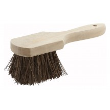 Winco BRP-10  Wood Handle Pot Brush - 10