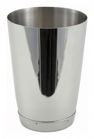 Winco BS-15 Stainless Steel Bar Shaker Cup 15 oz.