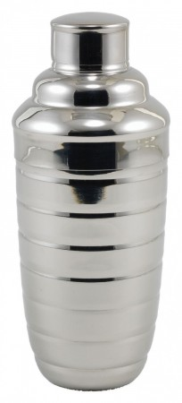 Winco BS-3B 2-Piece Beehive Cocktail Shaker Set 24 oz.