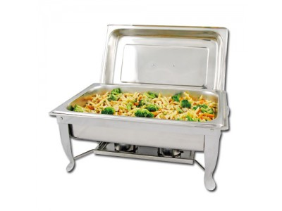 Winco C-1080 Foldable Frame Eco-Chafer 8 Qt.