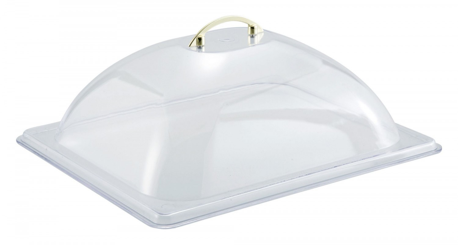Winco C-DP2 Half Size Polycarbonate Dome Cover