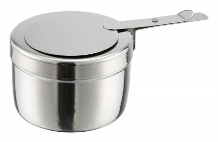 Winco C-F1 Stainless Steel Chafing Fuel Holder with Cover 8 oz.