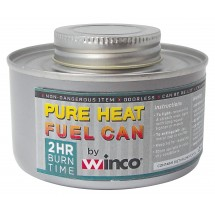 Winco C-F2 2-Hour Wick-Type Chafing Fuel Can with Twist Cap - 24 pieces/box