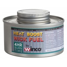 Winco C-F4 4-Hour Wick-Type Chafing Fuel Can with Twist Cap - 24 pieces/box