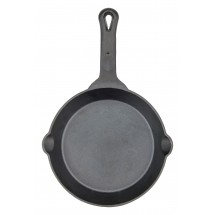 Winco CAST-8 FireIron™ Pre-Seasoned Cast Iron Skillet 8""