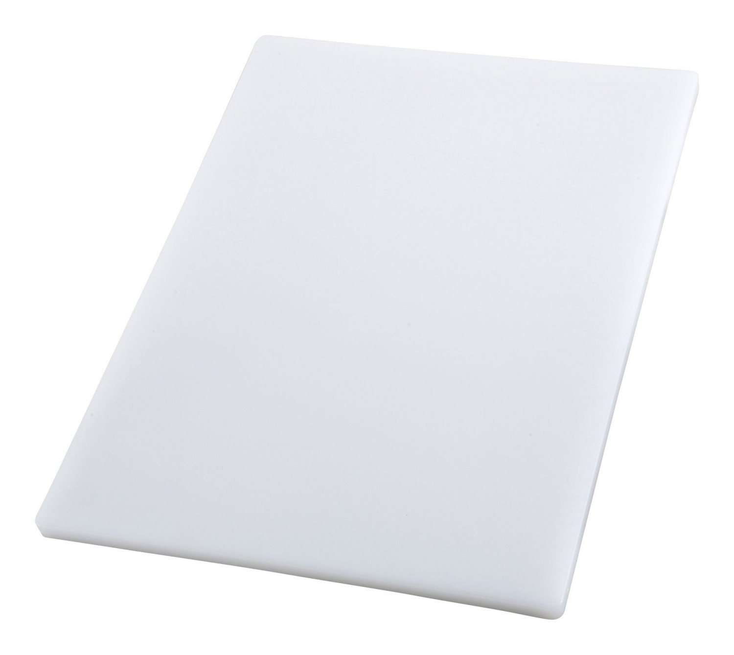 "Winco CBH-1824 Thick White Plastic Cutting Board 18"" x 24"" x 3/4"""