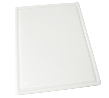 "Winco CBI-1218 Grooved White Cutting Board 12"" x 18"" x 1/2"""
