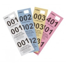 Winco CCK-5 Coat Check Tickets - Box of 500 pcs