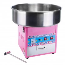 "Winco CCM-28 ShowTime Electric Cotton Candy Machine with 20.5"", Stainless Steel Bowl, 1080 W"